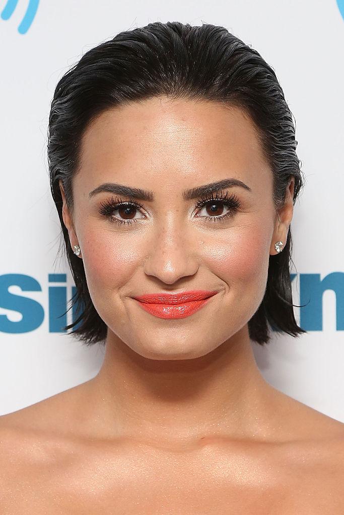 Demi Lovato Visits SiriusXM's Hits 1