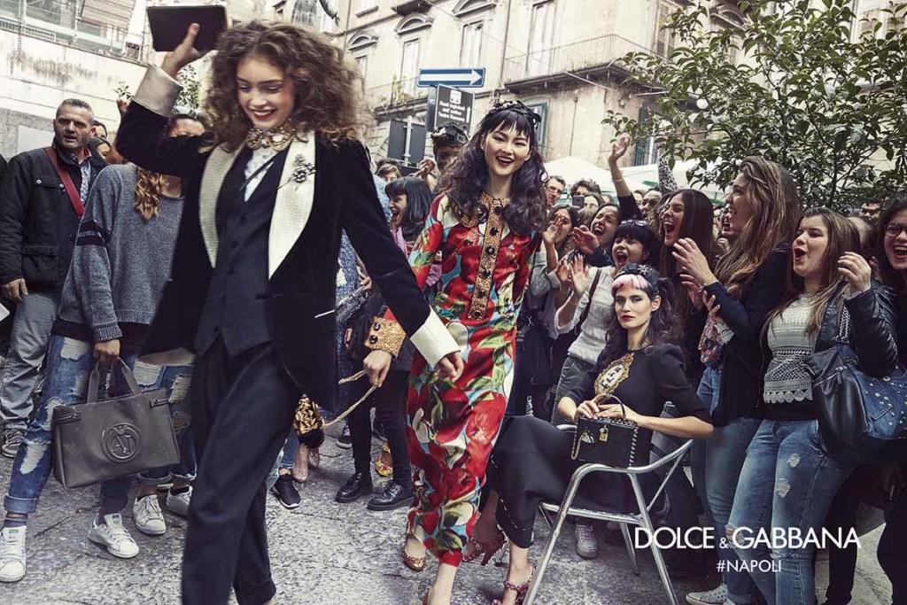 Dolce&Gabbana campagna pubblicitaria FW16 Napoli (1)
