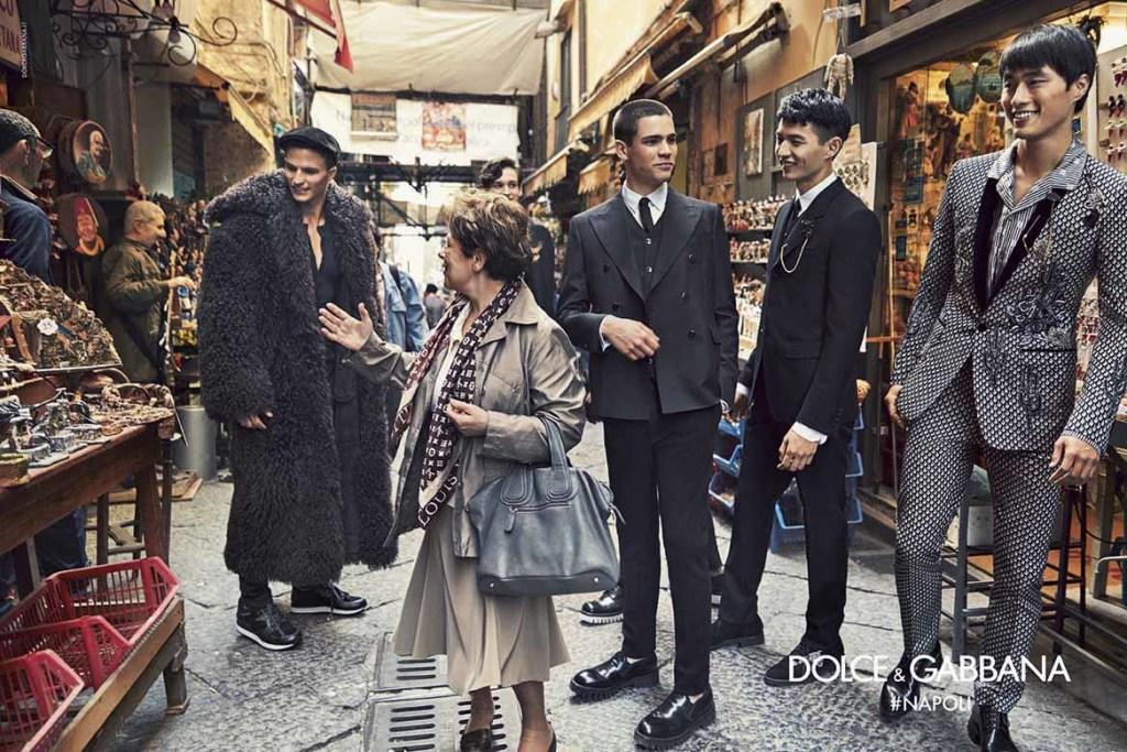 Dolce&Gabbana campagna pubblicitaria FW16 Napoli (9)