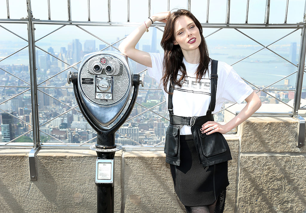 Coco Rocha Lights The Empire State Building In Honor Of World Blood Day