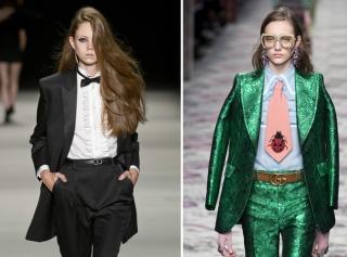 Смокинг Saint Laurent или костюм Gucci: что бы предпочли вы?