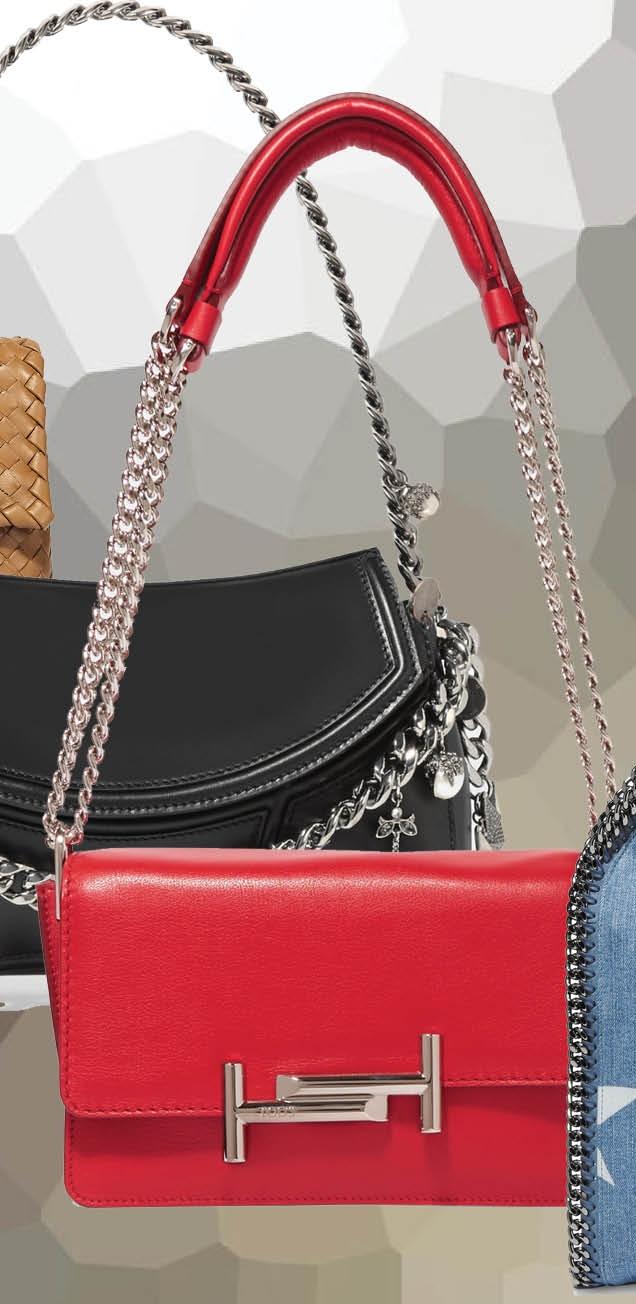 Тренд сезона: сумки с цепями