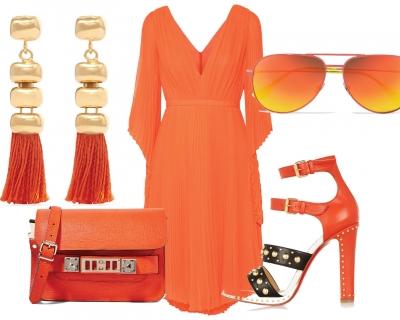 Как носить оранжевые вещи-430x480