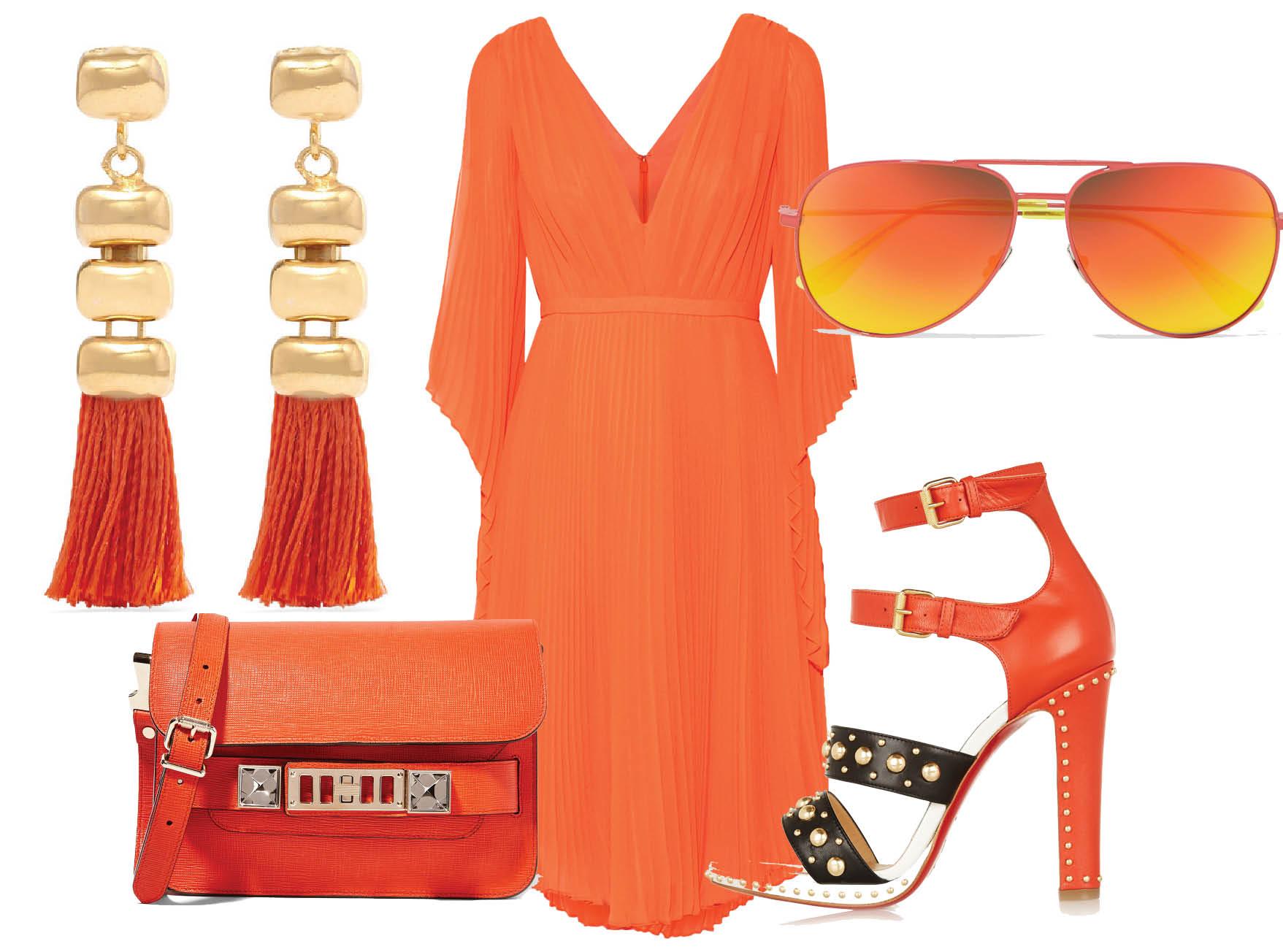 Как носить оранжевые вещи-320x180