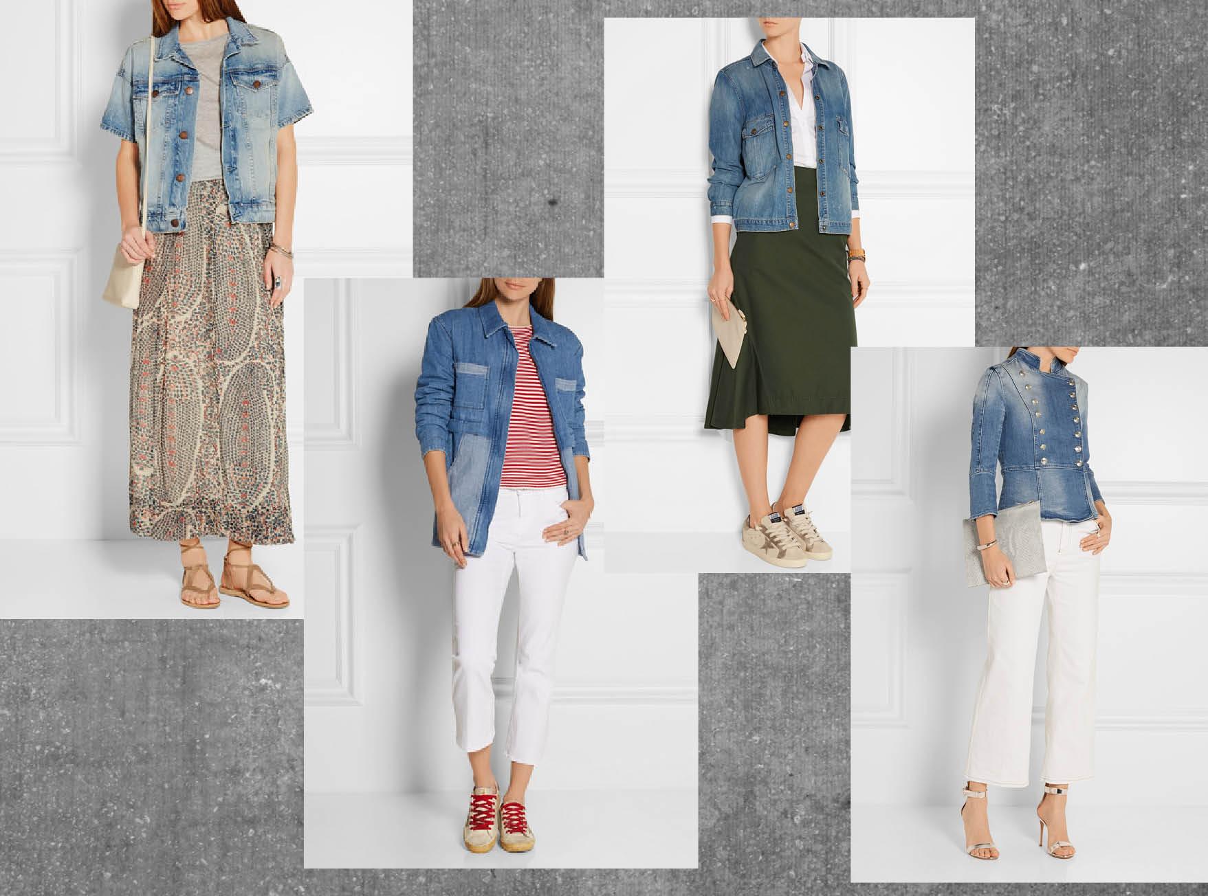 С чем носить джинсовую куртку-320x180