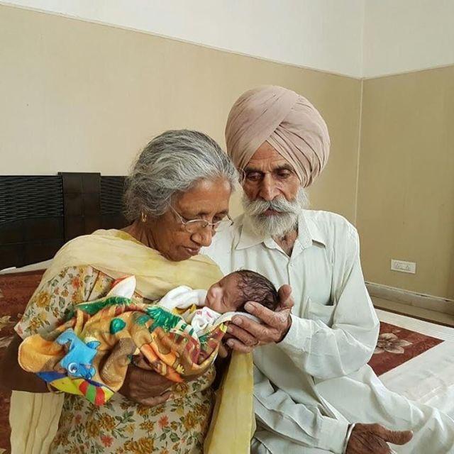 70-летняя женщина родила первого ребенка-320x180