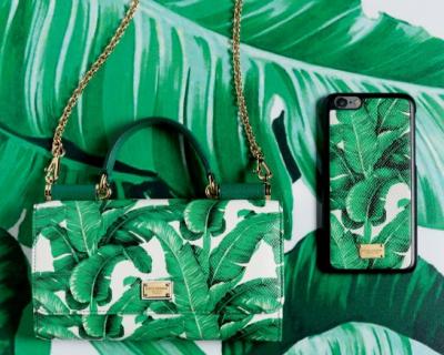 Ботанический сад: новая капсульная коллекция Dolce & Gabbana-430x480
