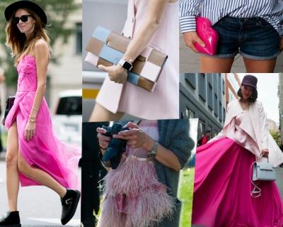 Стрит-стайл: как носить розовый цвет «по-взрослому»-430x480