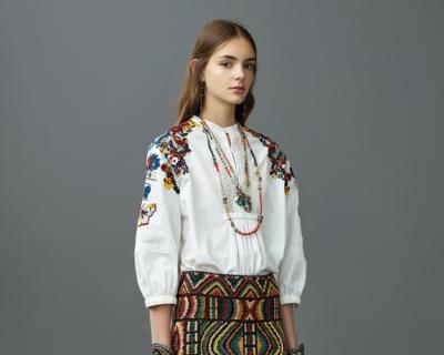 Вышивка и тропические цветы в круизной коллекции Valentino-430x480
