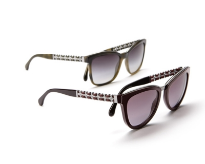 Новая коллекция очков Chanel Coco Chain-430x480