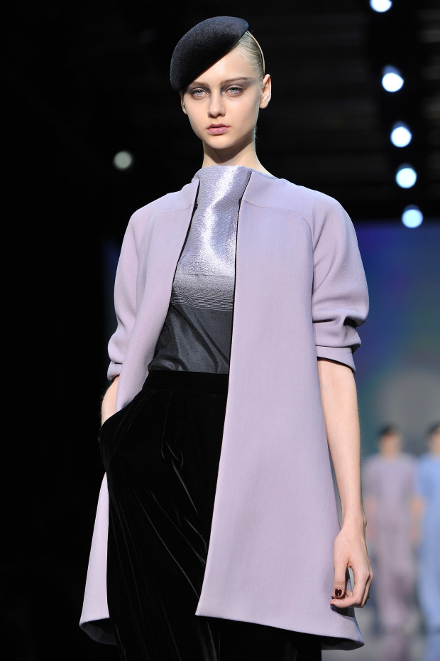 Giorgio Armani Prive: Runway - Paris Fashion Week Haute Couture F/W 2012/13