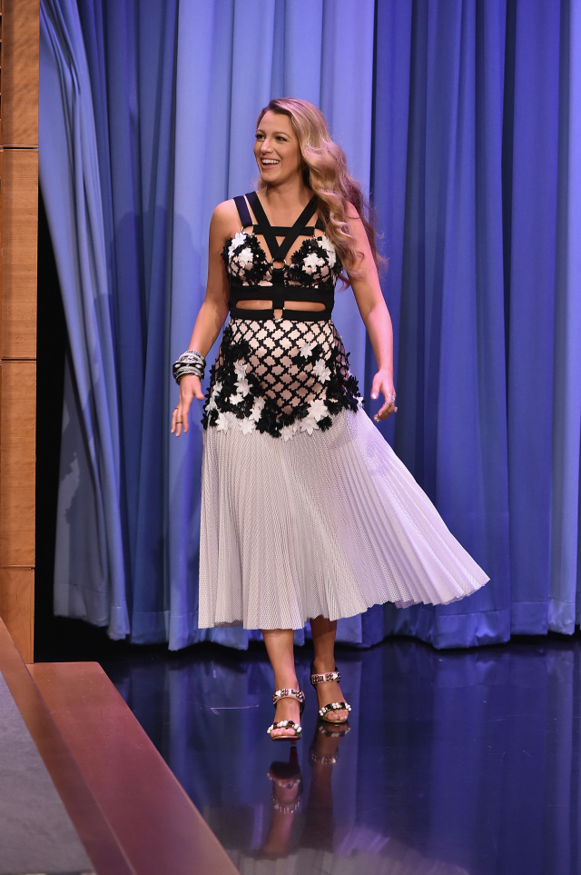 "Blake Lively Visits ""The Tonight Show Starring Jimmy Fallon"""