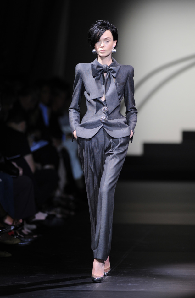 Giorgio Armani Prive: Paris Fashion Week Haute Couture A/W 2010 - Show