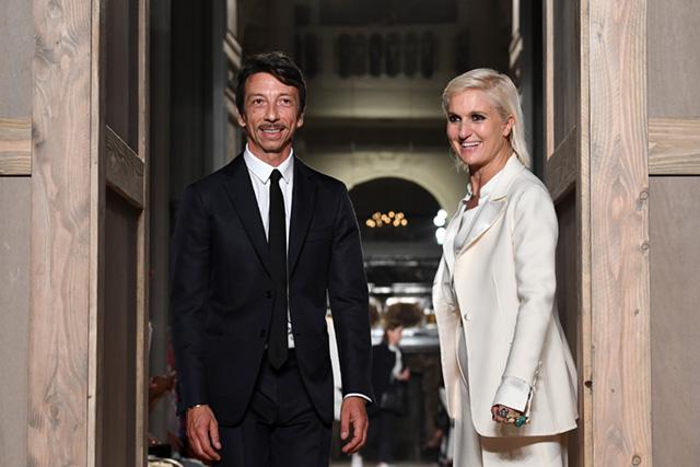 Мария Кьюри Пьерпаоло Пиччоли Dior Valentino
