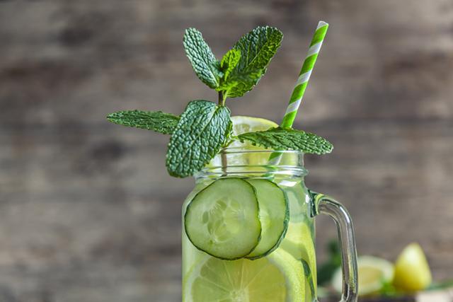 Detox water Sassy water