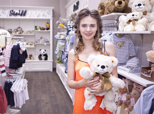 В Киеве открылся магазин бренда Steiff-320x180