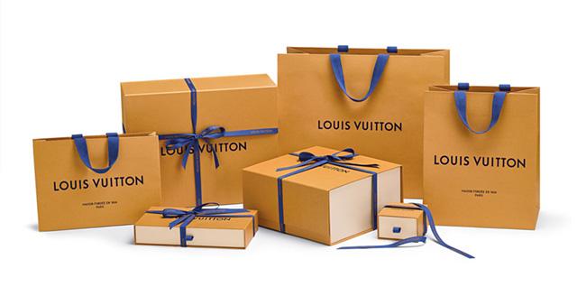 Новая упаковки Louis Vuitton