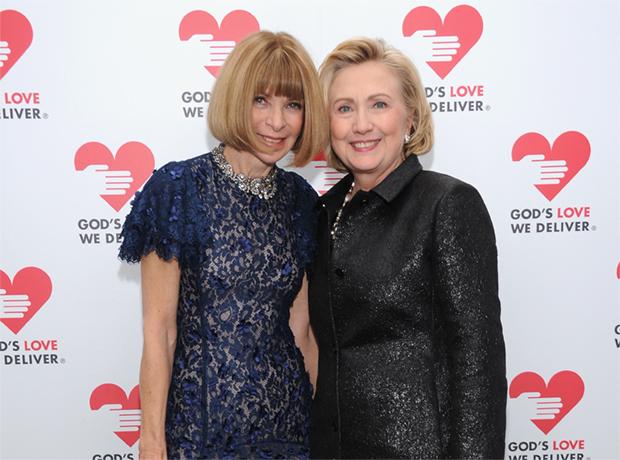 Анна Винтур стала стилистом Хиллари Клинтон