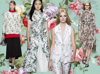 Как носить этим летом вещи с цветочным принтом