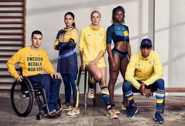 Олимпийская форма Швеции
