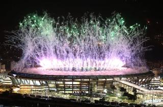 Открытие Олимпиады в Рио: как это было