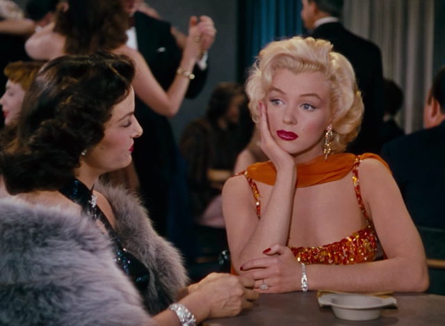 Мерилин Монро в «Мужчины предпочитают блондинок»