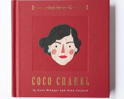 Что читать: иллюстрированная книга о жизни Коко Шанель-430x480