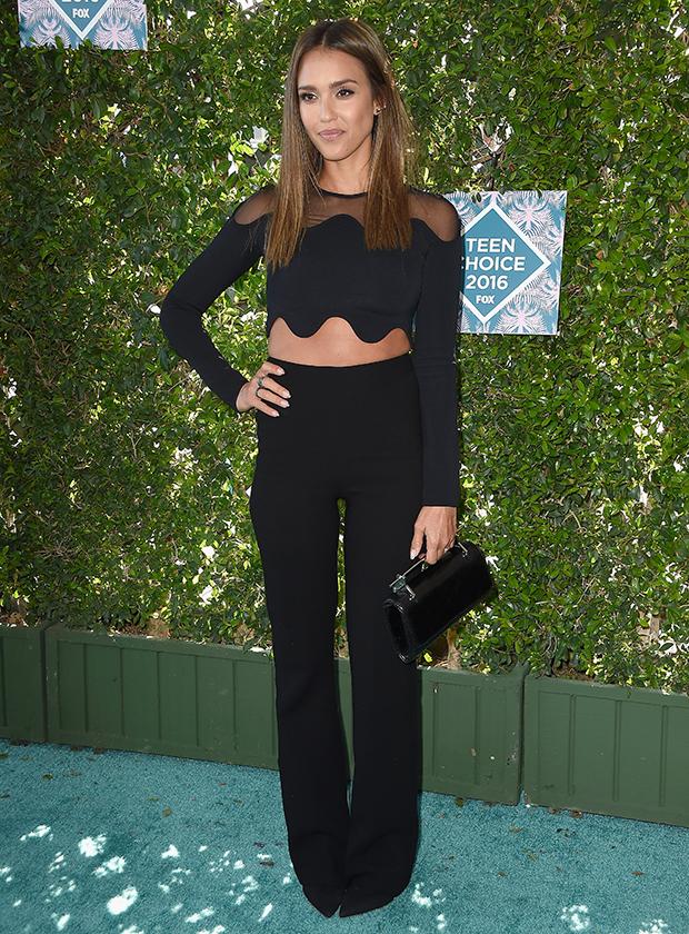Джессика Альба на Teen Choice Awards 2016