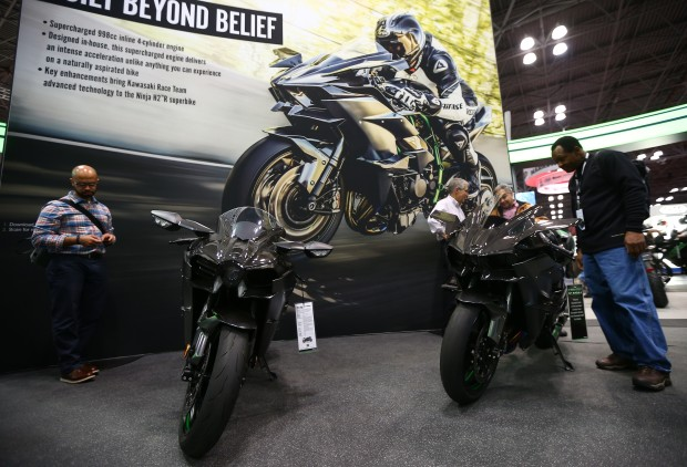 выставка Harley Davidson