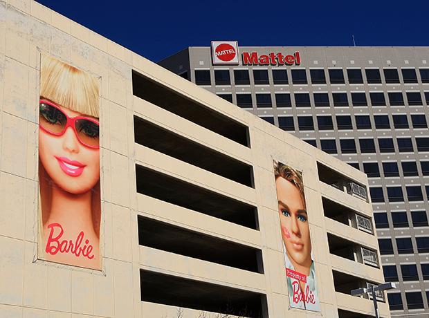 офис Mattel