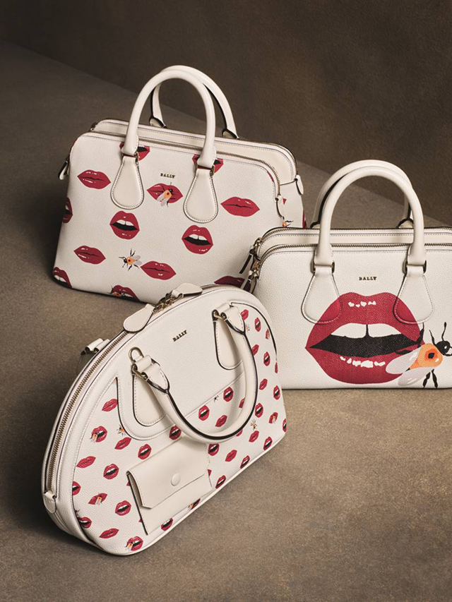 ICONIC LIP PRINT BALLY, Bags Bally Pre-Fall 2016