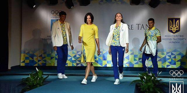Олимпийская форма Украины