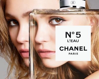 Лили-Роуз Депп в двух тизерах кампании Chanel N° 5-430x480
