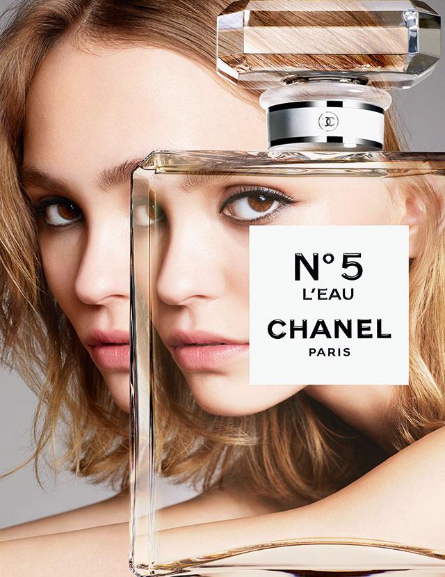 Лили-Роуз Депп в двух тизерах кампании Chanel N° 5-320x180