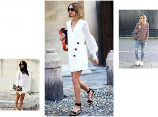 Как носить обувь на плоской подошве и выглядеть стильно