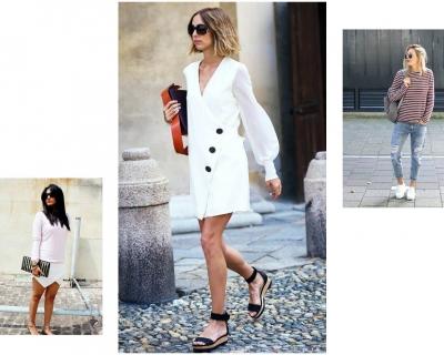 Как носить обувь на плоской подошве и выглядеть стильно-430x480