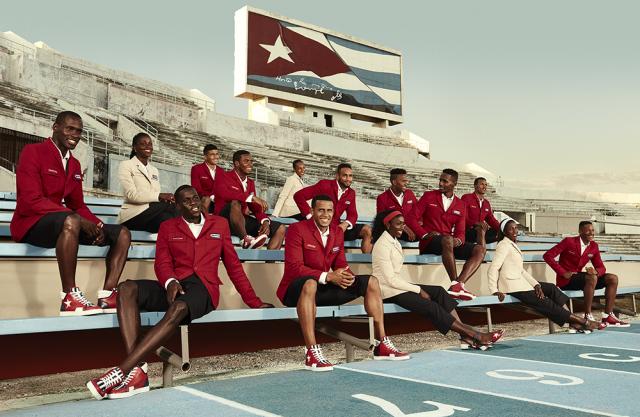 Олимпийская форма Кубы