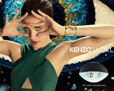 Разрыв шаблона: реклама нового аромата Kenzo-430x480