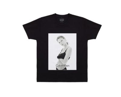 Calvin Klein и Opening Ceremony выпустили коллекцию футболок с юной Кейт Мосс-430x480