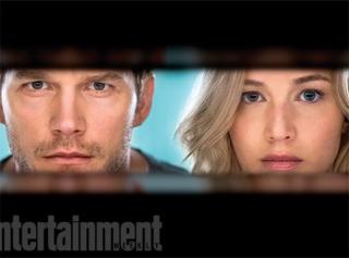 Первые кадры фильма «Пассажиры» с Дженнифер Лоуренс и Крисом Прэттом