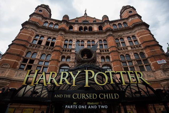 Театр Palace в Лондоне Гарри Поттер