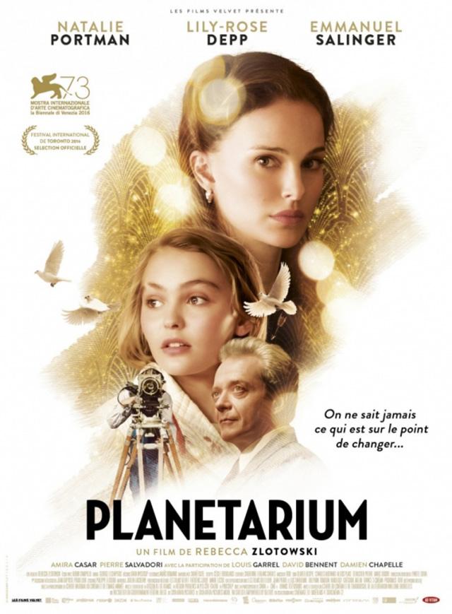 """постер фильма """"Планетариум"""""""