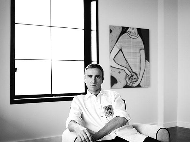Раф Симонс стал креативным директором Calvin Klein