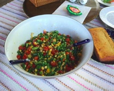 Рецепт летнего салата от Синди Кроуфорд-430x480