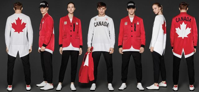 Олимпийская форма Канады