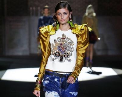 Неделя моды в Милане: Dsquared2 SS'17-430x480