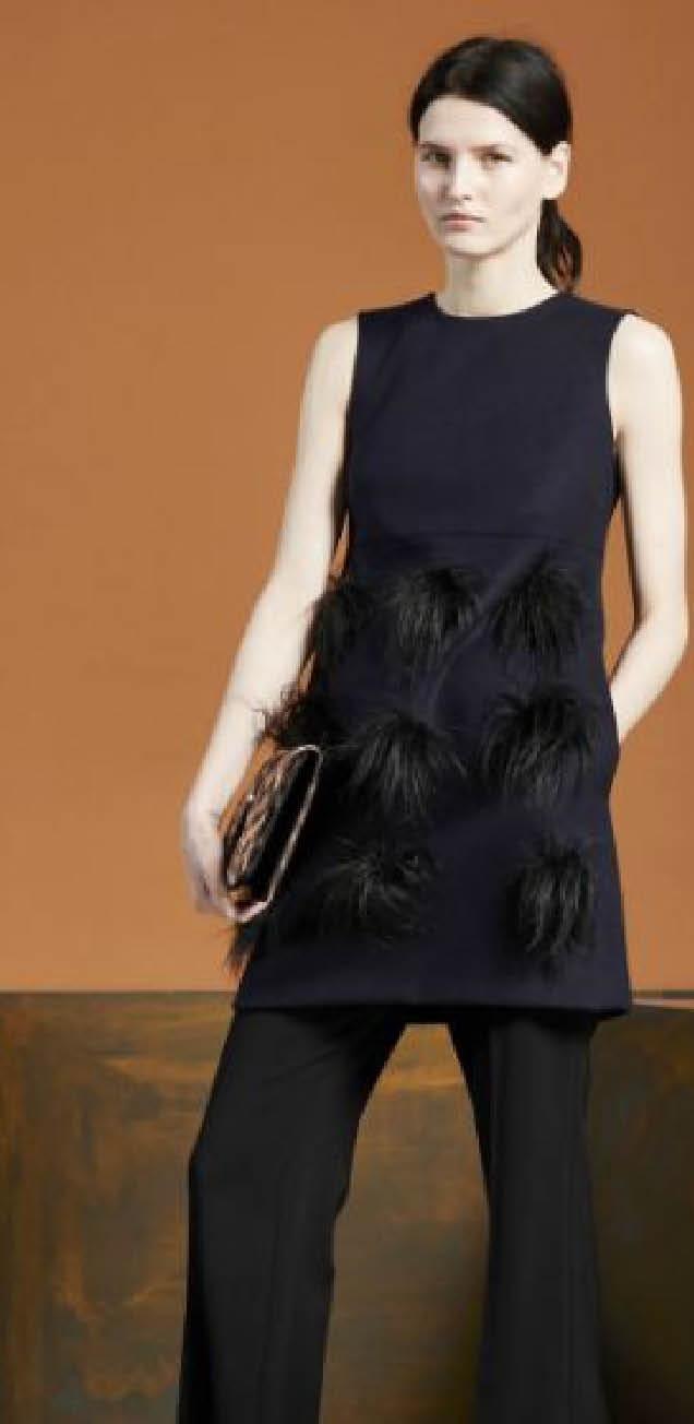 Как использовать  многослойность и носить платье на брюки
