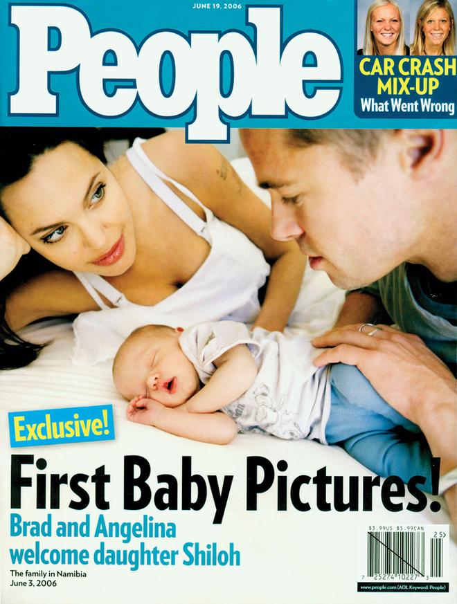 Анджелина Джоли и Питт с дочерью Шайло