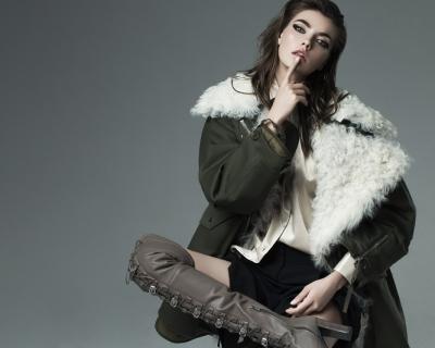 Топ-модель Алина Байкова в новом выпуске Sanahunt Vision-430x480