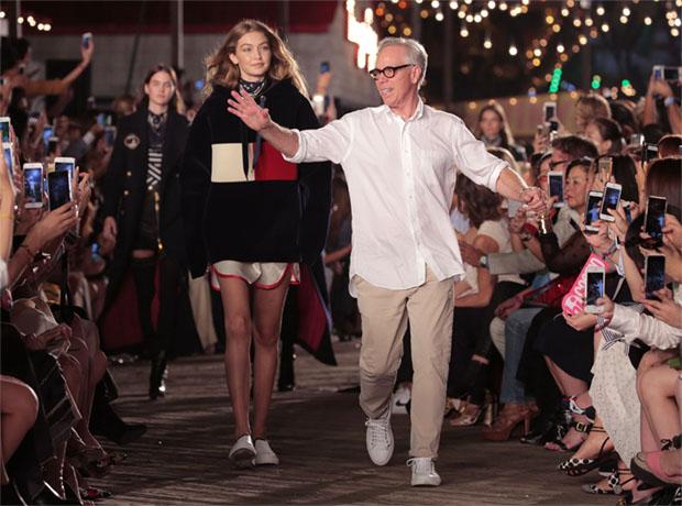Tommy Hilfiger и Джиджи Хадид устроили шоу в Нью-Йорке-320x180